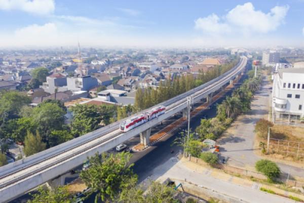 light rail in Indonesia