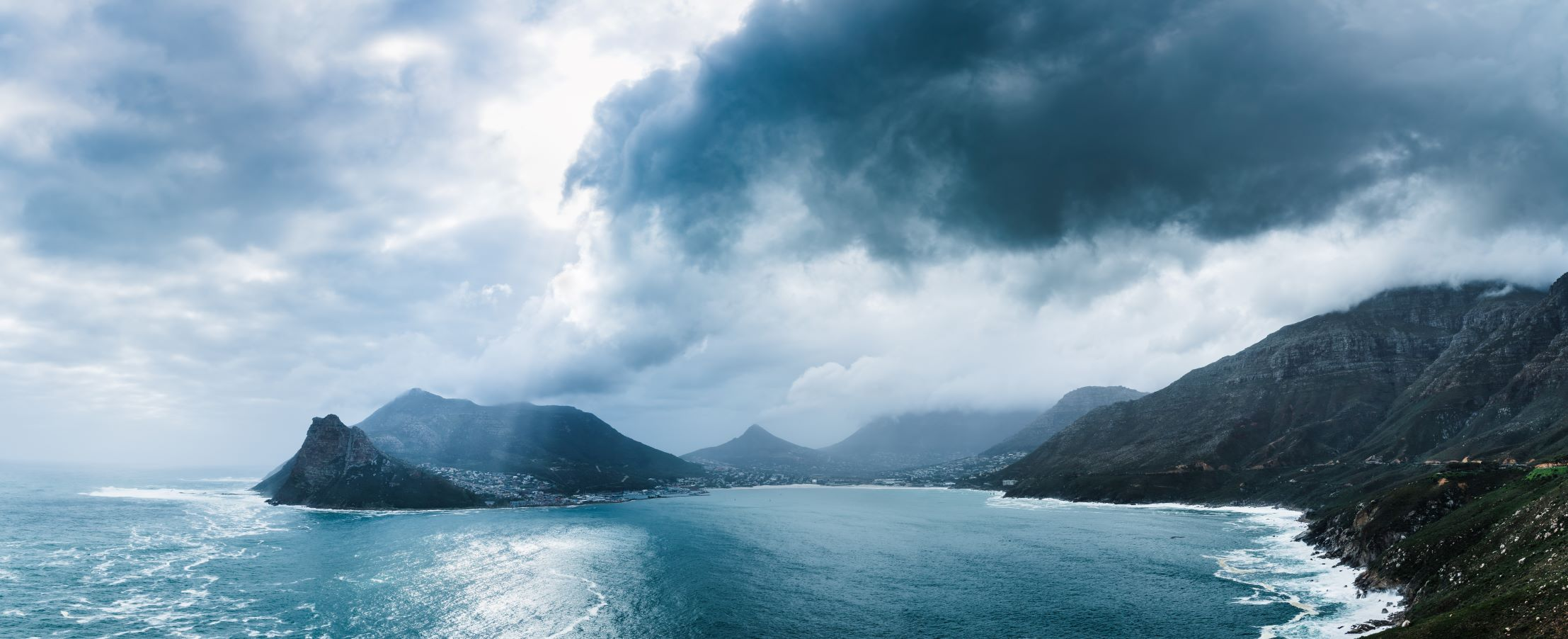 photo of weather event off Hout Bay