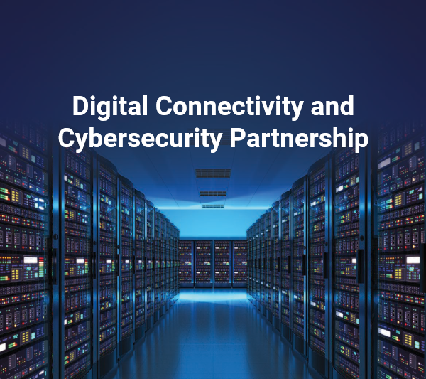 Digital Connectivity and Cybersecurity Partnership Image