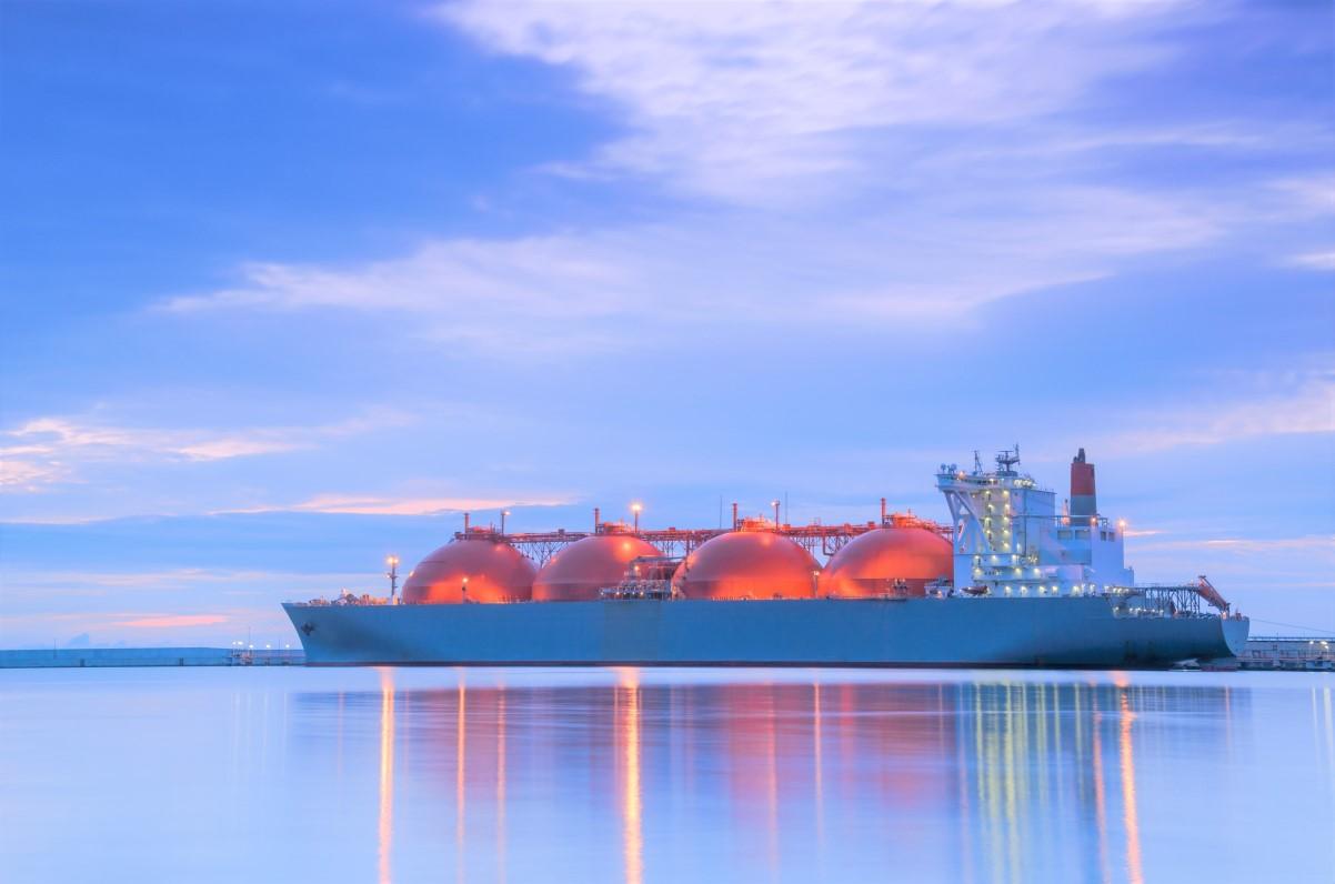 LNG ship photo