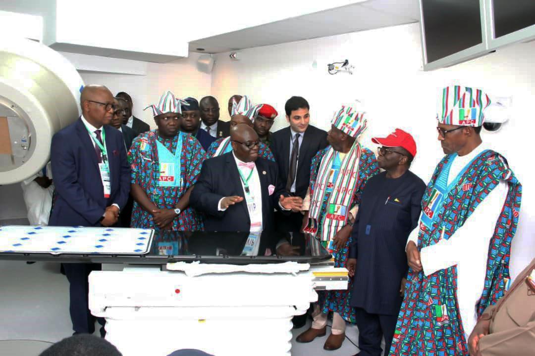 Pres Buhari at LUTH EDIT