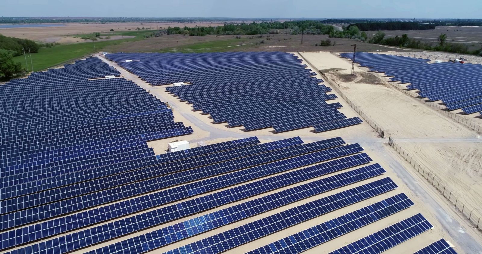 Image of solar farm. USTDA announced its latest partnership to support climate-smart infrastructure in India.