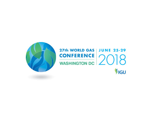 27th World Gas Conference 2018 logo