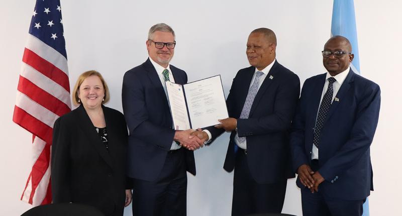 Botswana MOU Signing EDIR