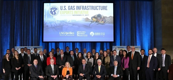 Gas Initiative Group Shot v