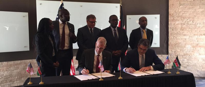 Kenya Grant Signing