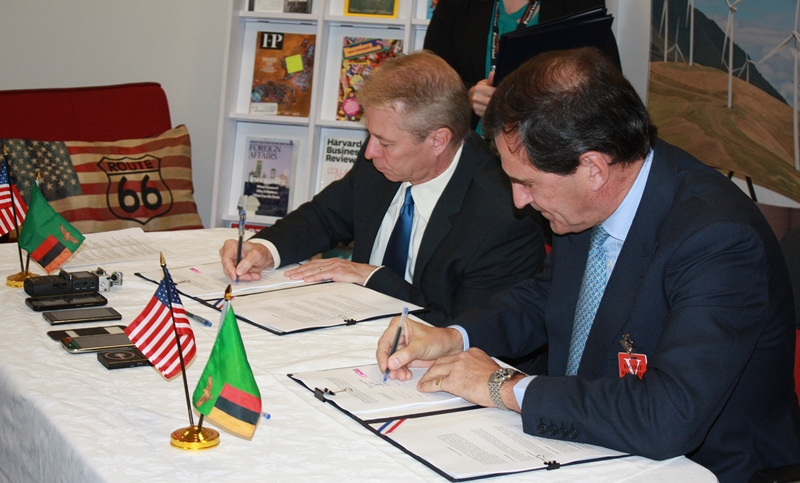 USTDA_Signing Photo Zambia