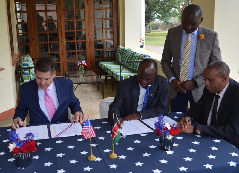 kenya grant signing 2